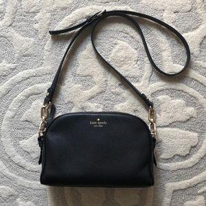 ♠️ Kate Spade♠️ Black & Gold chain purse